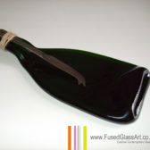 Flatterned champagne cheese board with knife