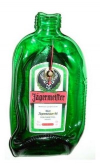 Jager Bottle Clock