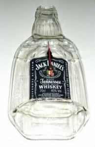 jack daniels bottle clock