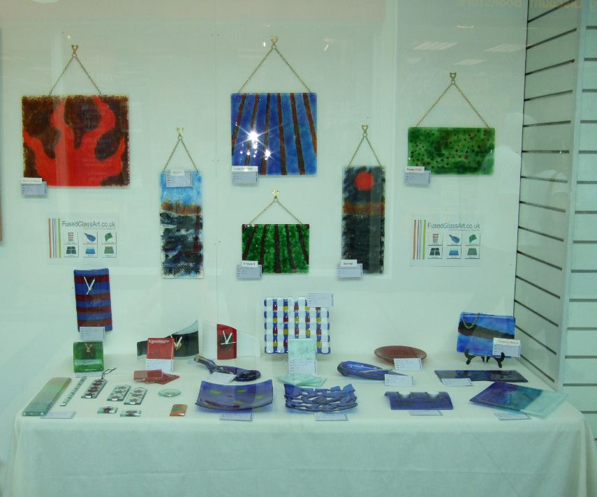galleries fused glass art
