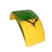 Green & Yellow Clock