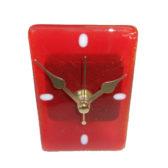 Red Desk Clock