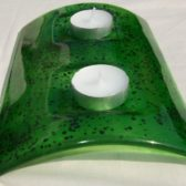 Green Tealight Holders