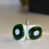 Green Spotted Cufflinks