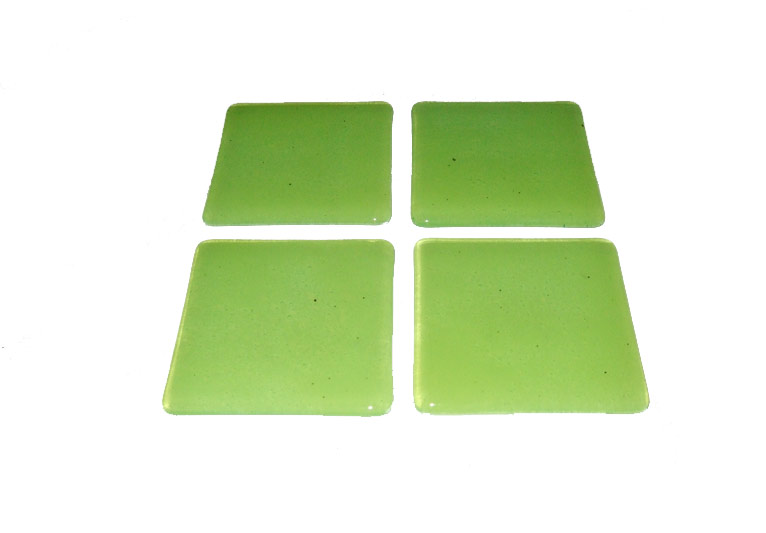 Handmade Lime Coaster Set Stunning Unique Coasters Free