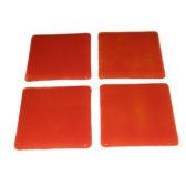 Orange Glass Coasters