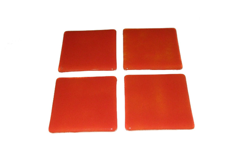 modern orange glass coasters perfect for any room free. Black Bedroom Furniture Sets. Home Design Ideas